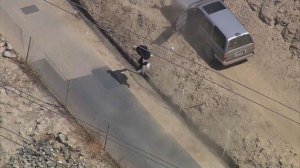 Suspected burglar leads California police on chase, hides in drainage tunnel