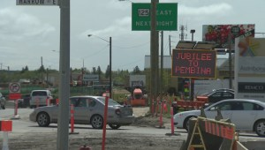 Portion of Pembina Highway to be shut down in both directions for 3 days