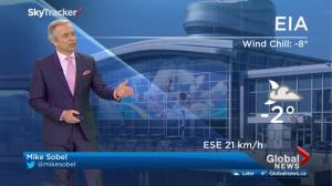 Edmonton early morning weather forecast: Wednesday, March 22, 2017