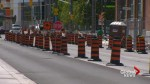 Leslie streetcar track installation hit with delays yet again