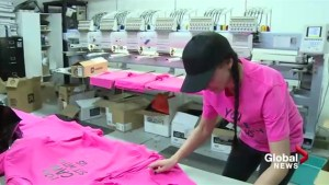 Lethbridge woman is encouraging people to 'Come sit with us,' for Pink Shirt day