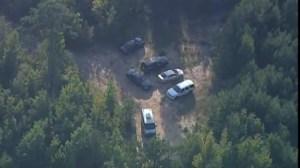 Aerial footage of location where 5 children found dead