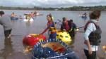 Pumpkin paddlers make a splash in Nova Scotia