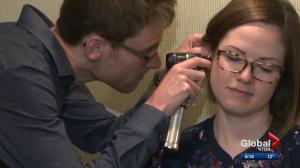 A hearing test you can take over the phone