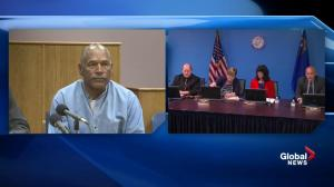 O.J. Simpson granted parole by Nevada court