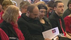 David Wynn remembered in Bridgewater, Nova Scotia