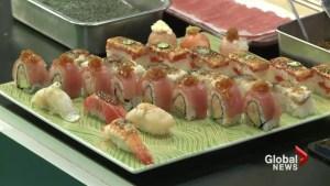 Minami Restaurant's Red Wave Roll