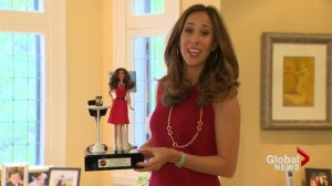 Erica Diamond is Entrepreneur Barbie