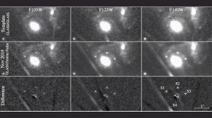 Astronomers see exploding star four times