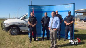 Major facelift for Alberta border crossings