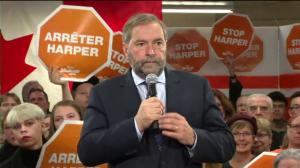 Mulcair explains why he would support arms deal to Saudi Arabia but not the TPP