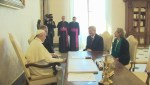 Harper meets with Pope Francis in Vatican