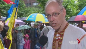 Montreal Ukrainian community protests
