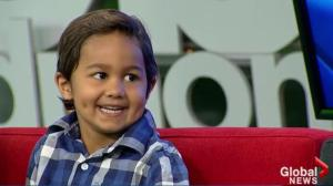 Kids with Cancer: Naveed, 4, on maintenance therapy for ALL