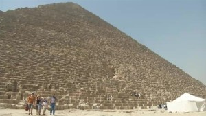 Egypt's interior minister leads new treasure hunt inside the pyramids