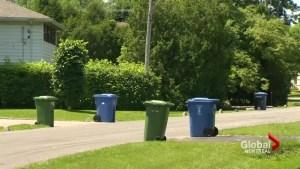Garbage pick-up struggles