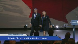 Tribute dinner held for Stephen Harper at Conservative convention