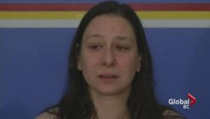 Comox mother makes hit and run plea