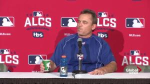 John Gibbons on why he moved Jose Bautista back into the leadoff spot