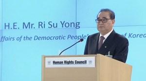 North Korea denies human rights abuses at U.N.