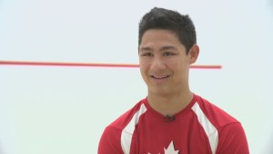 Racquetball champ prepares for Mexico
