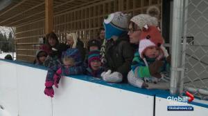 Rink of dreams brings Alberta community together