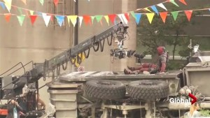 Deadpool 2 resumes filming under the Granville Street Bridge