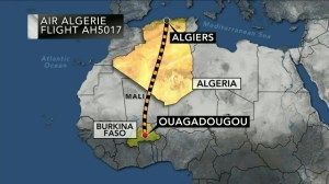 Air Algerie plane goes missing