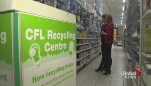 A new report finds 90% of CFL bulbs are thrown away instead of being recycled.
