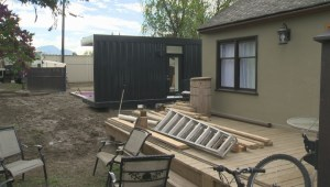 Largest container home in Kelowna