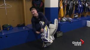 UBC goalie Matt Hewitt signs one day contract with Canucks