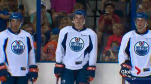 Thousands watch Connor McDavid in Edmonton