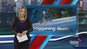 Australian dies of injuries following toboggan crash on Edmonton hill