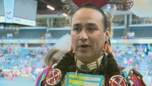 Promoting Blackfoot identity at International Peace Pow-wow