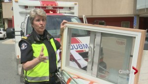 Health care professionals warn about window Safety
