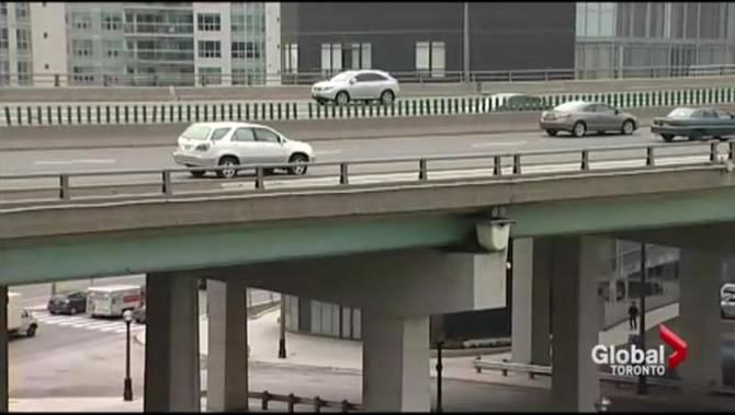 Gardiner Expressway : Gardiner expressway closed this weekend for fall maintenance