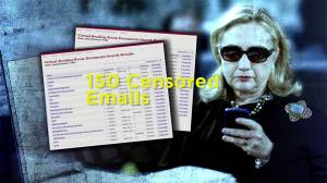 As many as 150 Clinton emails censored before going public
