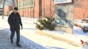 Eliminating anti-Semitic graffiti