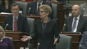 Wynne refuses to cancel Question Period after Ottawa shootings