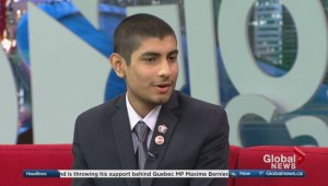 Meet Calgary's Mayor for a Day Haaziq Altaf