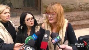 Marijuana legalization activists speak out against the jailing of Marc and Jodie Emery