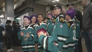 Hockey friends remember 15-year-old Calgary boy who died from cancer
