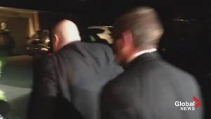 Toronto Election: Rob Ford arrives at Ford family home
