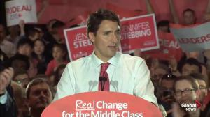 Justin Trudeau says Tom Mulcair wants to make Quebec separation easier