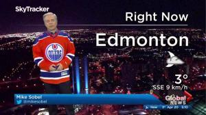 Edmonton early morning weather forecast: Thursday, April 20, 2017