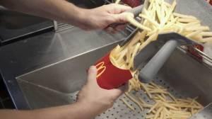 Watch entire McDonald's fry making process
