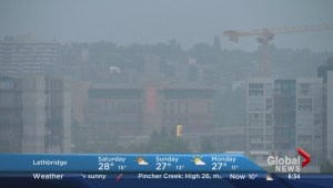 Air quality alert in effect for Calgary