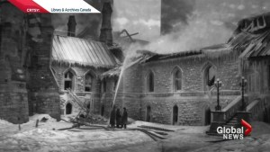 A century since the fire on Parliament Hill