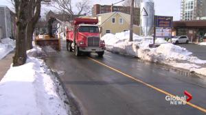 Snow clearing continues in Halifax, one week after blizzard