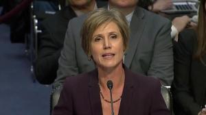Sally Yates testifies about warning Trump on hiring Flynn